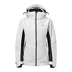 Tog 24 - White and black abbey waterproof insulated jacket