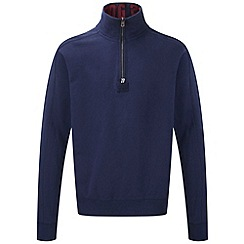 Tog 24 - Dark midnight abersoch zip sweatshirt