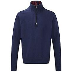Tog 24 - Dark midnight abersoch zip sweatshirt