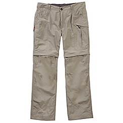 Tog 24 - Pebble active tcz zip off cargo trousers regular leg
