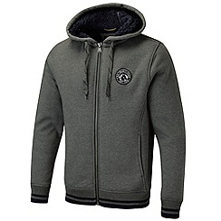 Tog 24 - Dark grey marl alex zip hoody