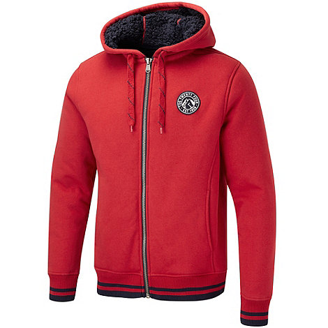 Tog 24 - Chilli red alex zip hoody