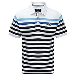 Tog 24 - White stripe alexander polo shirt