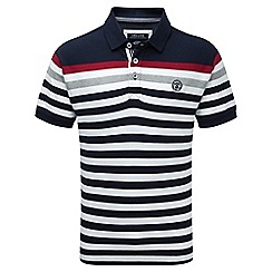 Tog 24 - Navy stripe alexander polo shirt