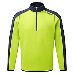 Tog 24 - Bright lime/storm ally tcz fleece zip neck