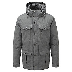 Tog 24 - Grey marl alness milatex/down parka jacket