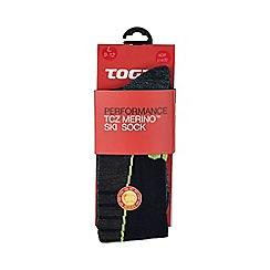 Tog 24 - Navy alpach merino ski socks