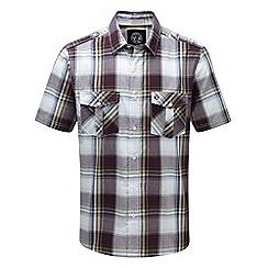 Tog 24 - Plum check altus shirt