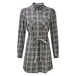 Tog 24 - Grey check annie shirt dress