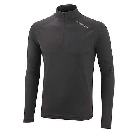 Tog 24 - Black Arctic Aps Zip Neck
