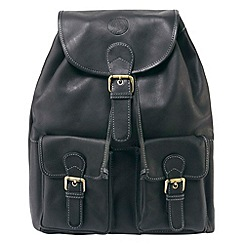 Tog 24 - Black arundel leather backpack