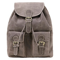 Tog 24 - Brown arundel leather backpack