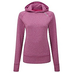 Tog 24 - Berry marl ascend tcz stretch hoodie