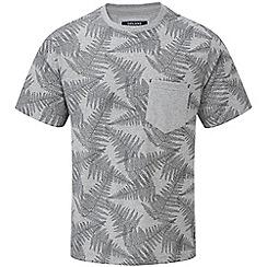Tog 24 - Grey marl aston tcz t-shirt fern print
