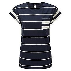 Tog 24 - Navy marl strip astrid deluxe t-shirt