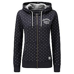 Tog 24 - Navy marl ava deluxe zip hoodie wilderness