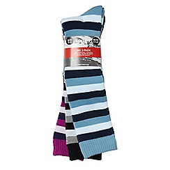 Tog 24 - Assorted 3pk aviemore womens tcz ski sock 3 pack