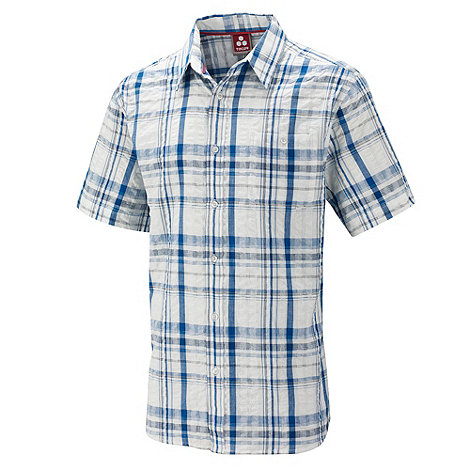 Tog 24 - New blue check avon seersucker shirt
