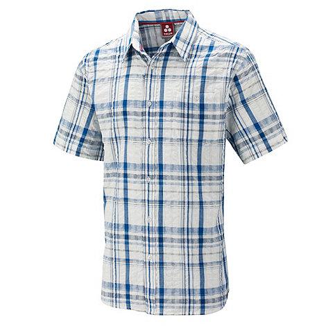 Tog 24 - New blue check avon seersucker shirt