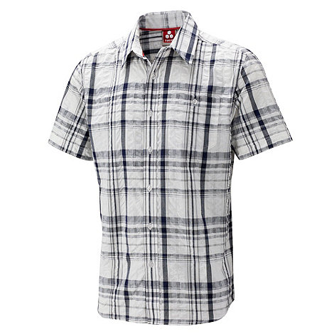 Tog 24 - Midnight check avon seersucker shirt