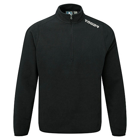 Tog 24 - Black Axis Tcz Fleece Zip Neck