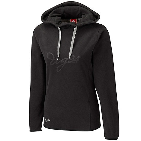 Tog 24 - Black logo axis tcz fleece hoody