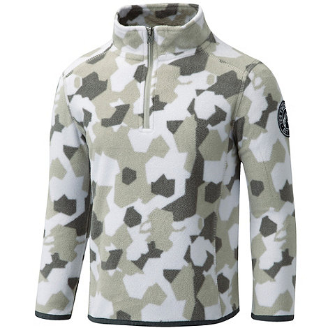 Tog 24 - White camo axis tcz fleece zip neck