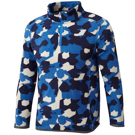 Tog 24 - New blue camo axis tcz fleece zip neck
