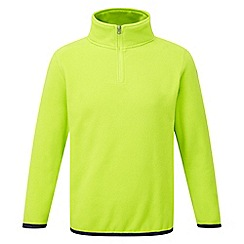 Tog 24 - Bright lime axis tcz fleece zip neck