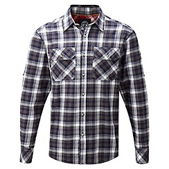 Tog 24 - Dark midnight check baffin tcz cotton shirt
