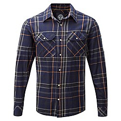 Tog 24 - Midnight/green check baffin tcz cotton shirt