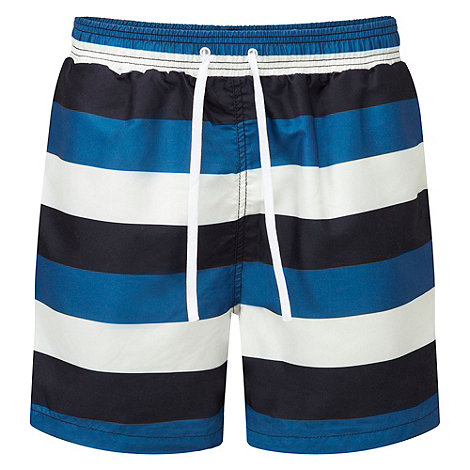 Tog 24 - White/blue bali swim shorts