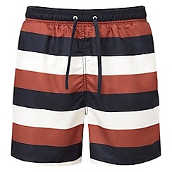 Tog 24 - Dark midnight/rust bali swimshorts
