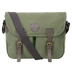 Tog 24 - Green banbury canvas satchel