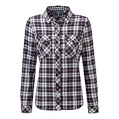 Tog 24 - Plum check belle deluxe tcz cotton shirt