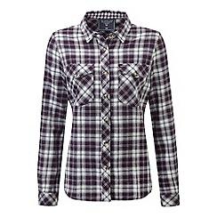 Tog 24 - Plum check belle deluxe tcz cotton shirt