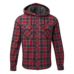 Tog 24 - Chilli check benedict sherpa lined winter shirt