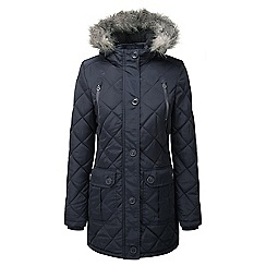Tog 24 - Navy bergamo tcz thermal parka jacket