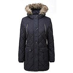 Tog 24 - Black bergamo tcz thermal parka jacket