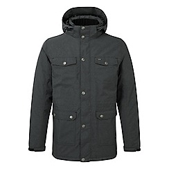 Tog 24 - Black marl Baxley milatex parka jacket