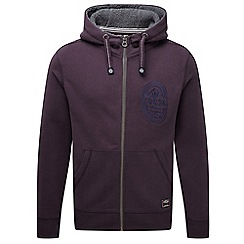 Tog 24 - Plum badge bodmin deluxe zip hoody badge