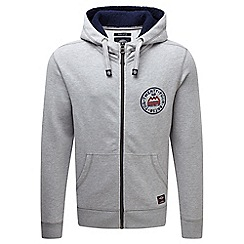 Tog 24 - Grey marl bodmin deluxe zip hoody valley