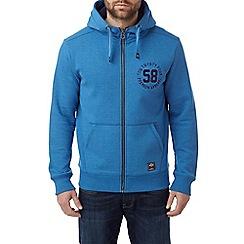 Tog 24 - New blue marl bodmin deluxe zip hoodie premium