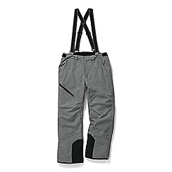 Tog 24 - Grey marl bolt waterproof insulated salopettes