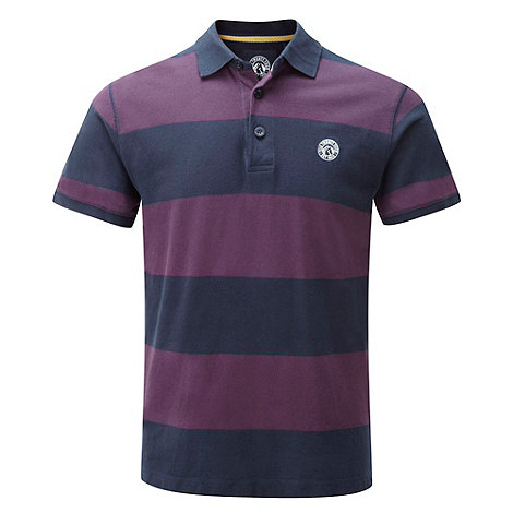 Tog 24 - Plum/midnight booth stripe polo