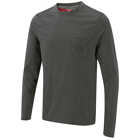 Tog 24 - Dark Grey Marl Boston Long Sleeve T-Shirt