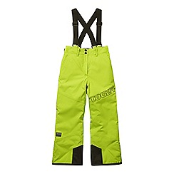 Tog 24 - Bright lime boundary milatex ski trousers