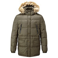 Tog 24 - Dark olive brave down jacket