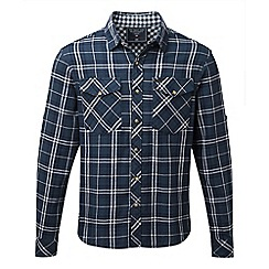 Tog 24 - Navy check buddy deluxe lined double weave shirt