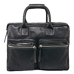 Tog 24 - Black burford leather bag